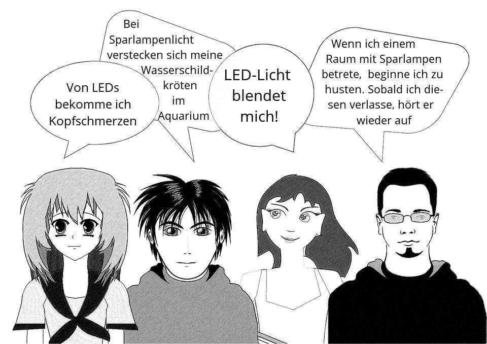 Lichtsensible Fallbeispiele